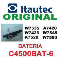 Bateria Notebook Itautec A7420 A7520 W7425 W7535 W7545 W7550