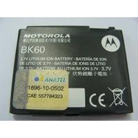 Bateria Motorola Original Bk60 E8 L7 Motokey Ex112 Ex115