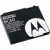 Bateria Motorola Bc60 C261 L7 U6c U6 V3x V8 Z6 L6 Semi Nova
