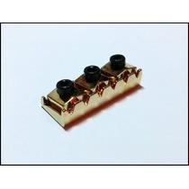 Trava P/ Cordas Lock Nut 43mm Guitarra Dourado Frete R$ 5,00