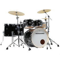 Bateria Acústica Nagano Maple Die Cast Shell Pack Full