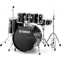 Bateria Acústica Yamaha Gigmaker Black Glitter Bumbo 20