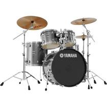 Bateria Yamaha Stage Custom Birch 22 Dark Cheiro De Música