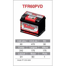 Bateria De Carro- Tudor -60 Ah - Nova- Padrao Montadora