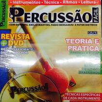 Video Aula Para Percussão Revista + Dvd Frete Grátis