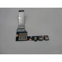 Placa Audio + Usb Do Notebook Lenovo Ideapad S400 T