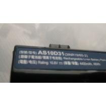 Bat Note Acer Aspire 5350 Series Autonomia 2h Mod As10d31