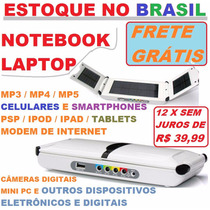 Bateria Extra/carregador Portátil Solar P/ Notebook Laptop