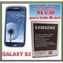 Bateria Samsung Galaxy S3 S 3 S Iii I9300 I747 I535 R530