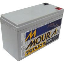 Bateria Selada Gel Moura 9ah 12v Brinquedo Nobreak Lanterna