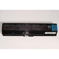 Bateria Toshiba A200 A205 A213 A300 A305 Pa3534u-1brs