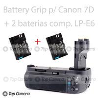 Battery Grip Compatível Canon 7d Bg-e7 + 1 Bateria Lp-e6