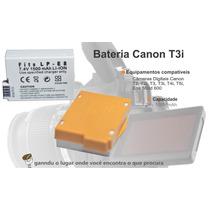 Bateria Para Canon T2i T3i T4i T5i M550d 600d X4