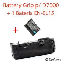 Battery Grip P/ Nikon D7000 + 1 Baterias En-el15