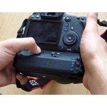 Battery Grip P/ Canon Eos 6d P/ Baterias Lp-e6 C/ Garantia