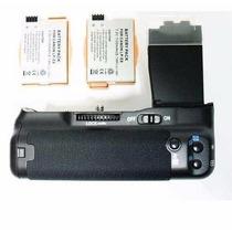 Baterry Grip Bateira P/ Canon T5i T4i T3i T2i + 2 Baterias