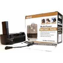Grip Battery Para Nikon D3100 D3200 P/ Bateria En-el14 D-slr