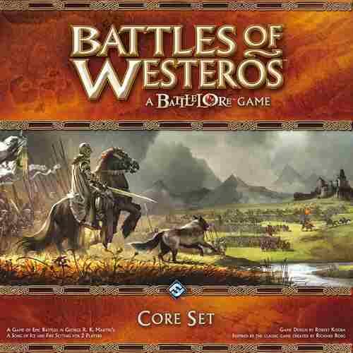 Battles Of Westeros - Jogo De Tabuleiro Importado Ffg