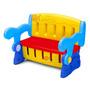 Organizador Infantil 3x1, Mesa, Banco, Bau Para Brinquedos
