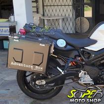 Kit Bau Laterais Motopoint Adventure Box Suporte F 800 R Bmw