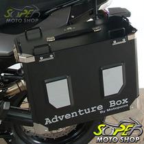 Kit Bau Laterais Motopoint Adventure Box Suporte V-strom 650
