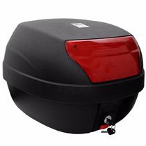 Bau Removível Para Moto Scooter Biz Crypton 28 Litros