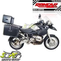 Kit Bauleto Traseiro + Lateral + Suporte Gs 1200 R Bmw Preto