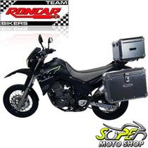 Kit Bauleto Traseiro + Lateral + Suporte Xt 660 R Pretos