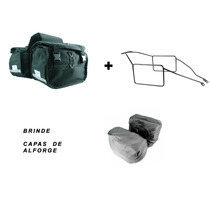 Kit Alforge Lateral + Afastador Honda Xre300 Brinde Capas