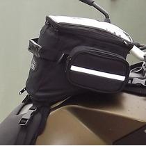 Mala Tanque Moto Gift Nylon Com Capa Impermeável 8 Litros