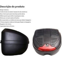 Bau Bauleto Caixa De Moto Guarda Capacete Moto Gow 40 Litros