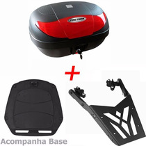 Bau Moto 45 Litros + Bagageiro + Base P/ Cb 300 2009 A 2015