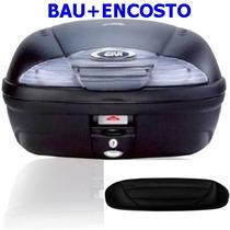 Bau Bauleto Givi 45 Litros E-450n Simply/ + Encosto Bau Givi