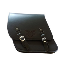Alforge Solo Lateral Couro Para Harley Davidson Dyna