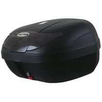 Bau Para Moto Bauleto 45 Litros Pro Tork Smart Box Fumê Fm