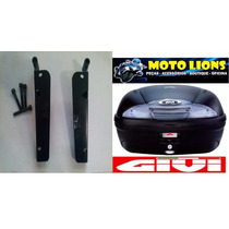 Bagageiro Honda Pcx 150 + Bau Givi 45 Litros Monolock E450n