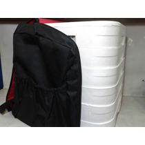Mochila Entrega Marmitex Vermelha E Preta Para 24 Marmitex