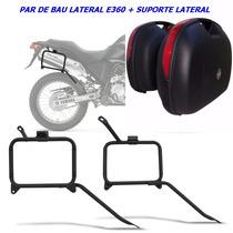 Suporte Lateral Tenere 250 Givi Monokey + Par Bau Givi E360