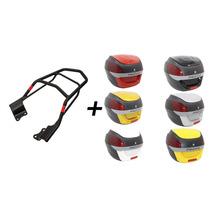 Kit Cg-fan 150/125 Givi+ Bau Proos 29l (2014 Acima) Vermelho