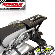 Base Suporte Preto P/ Bau Roncar Aluminio Super Tenere 1200