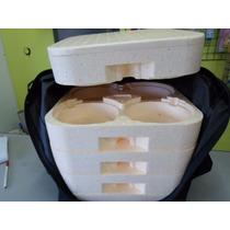 Mochila Com Isopor Para 20 Marmitex 5 Bandejas N8 (102)