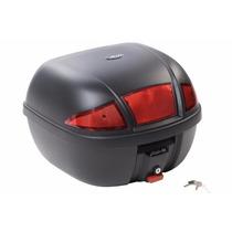 Baú Bauleto Melc 33 Litros Moto Titan Fan Cg Yes Ybr Fazer