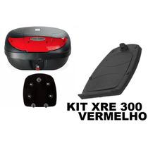 Bau Para Moto Bauleto 45 Litros Xre 300 Lente Varias Cores
