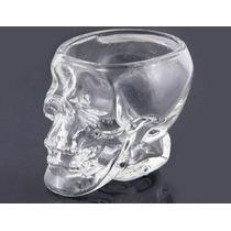 Copo Cabeça Caveira Crystal Head Vodka Original Em Vidro