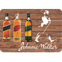 Placa Madeira Adesivada Whisky Johnnie Walker 28 X40