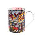 Caneca Dream Mug Hq Color Marvel Hulk Homem De Ferro Vingado