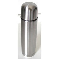 Garrafa Térmica 1 Litro Aço Inox Inquebrável Com Vacuum