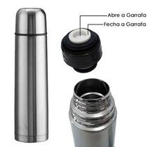 Garrafa Térmica 500ml Aço Inox Inquebrável Com Vacuum Nfe **