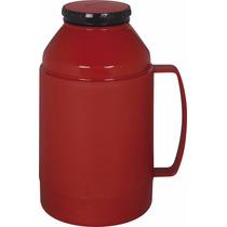 Garrafa Térmica De Mesa Indie Vermelha 500 Ml (mini Térmica)