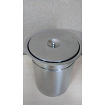Lixeira De Embutir Inox Cozinha/banheiro P/ Granito 25l